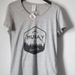 Camiseta Munay gris Vanesa Martin