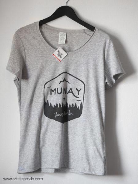 """Camiseta gris """"Munay"""" - VM"""
