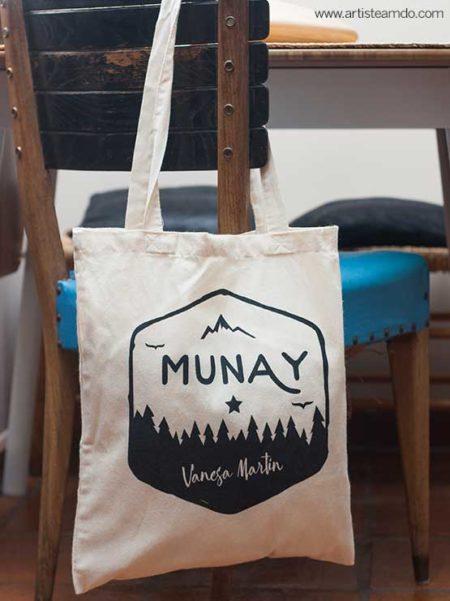 """Bolsa de tela """"Munay"""""""