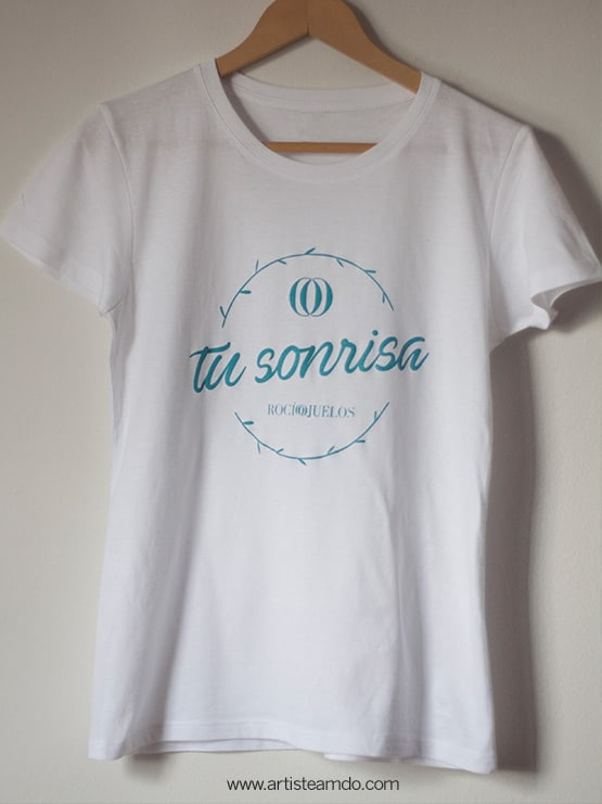 Rocio Ojuelos Tu sonrisa Camiseta