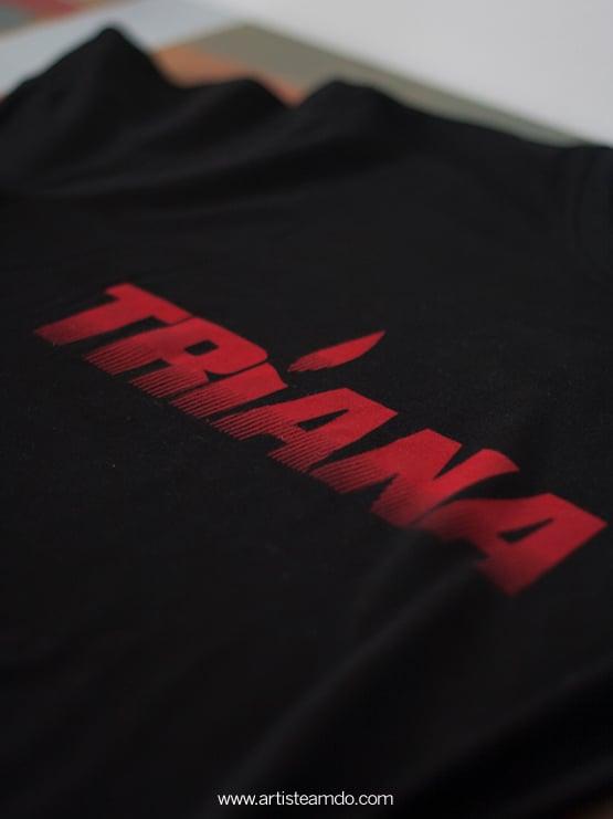 Triana Camiseta musica merchandising artisteamdo