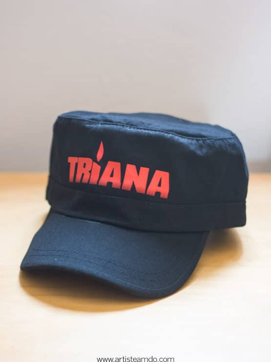 gorra militar triana rock