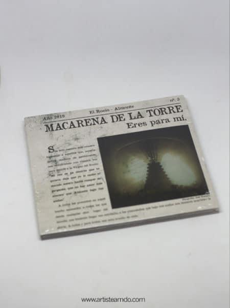 CD - Macarena de la Torre - Eres para mi